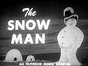 The Snow Man Free Cartoon Pictures