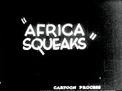 Africa Squeaks Picture Into Cartoon