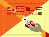 Self Sabotage Cartoon Picture