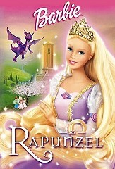 Barbie as Rapunzel Picture Into Cartoon