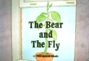The Bear And The Fly Picture Of Cartoon