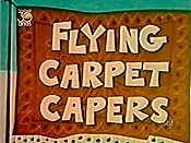 Flying Carpet Capers Cartoon Picture
