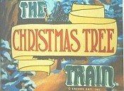 The Christmas Tree Train Cartoon Character Picture