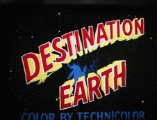 Destination Earth Cartoon Picture