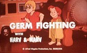 Germ Fighting With Harv And Marv Picture To Cartoon