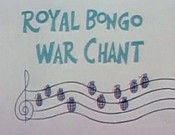 Royal Bongo War Chant Free Cartoon Picture