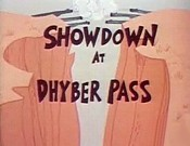 Showdown At Dhyber Pass Picture Of Cartoon