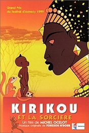 Kirikou Et La Sorciere (Kirikou And The Sorceress) Picture To Cartoon