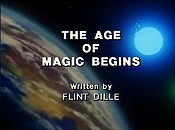 The Age Of Magic Begins Cartoon Character Picture