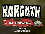 Korgoth Of Barbaria  Cartoon Picture