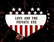Love And The Private Eye Cartoon Picture