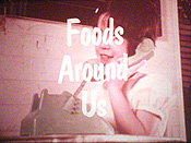 Foods Around Us Cartoon Picture