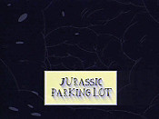 Jurassic Parking Lot Cartoon Picture