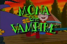 Mona the Vampire Episode Guide Logo