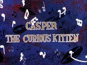 Casper the Curious Kitten Free Cartoon Picture