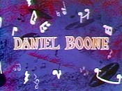 Daniel Boone Cartoon Picture