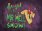 Mr. Hell Moves In Picture To Cartoon