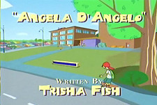 Angela D'Angelo Cartoon Character Picture