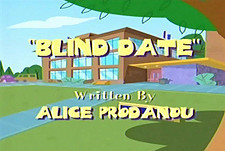 Blind Date Cartoon Character Picture