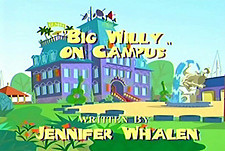 Big Willy On Campus Picture Of Cartoon