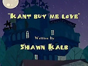 Kant Buy Me Love Cartoon Picture