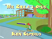 Mr. Zilla's Opus Free Cartoon Pictures