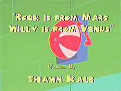 Rock Is from Mars, Willy Is from Venus Cartoon Picture