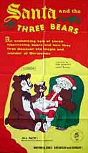 Santa And The Three Bears Cartoon Picture