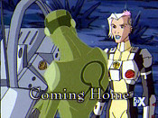 Coming Home Cartoon Picture