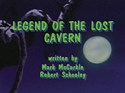 Legend Of The Lost Cavern Picture Of The Cartoon