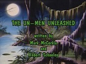 The UN-men Unleashed Picture Into Cartoon