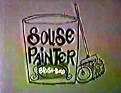Souse Painter Cartoon Picture