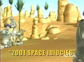 2001 Space Idiocies Picture To Cartoon