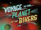 Voyage To The Planet Of The Bikers Picture Of Cartoon