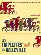 Les Triplettes de Belleville (The Triplets Of Belleville) Cartoon Pictures