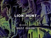 Lion Hunt Cartoon Character Picture