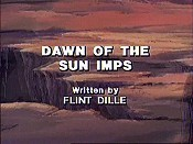 Dawn Of The Sun Imps Free Cartoon Picture