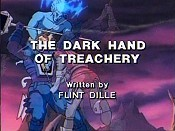 The Dark Hand Of Treachery Free Cartoon Picture