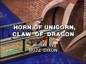 Horn Of Unicorn, Claw Of Dragon Cartoon Picture