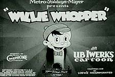 Willie Whopper Theatrical Cartoon Series Logo