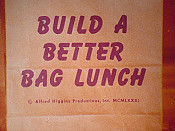 Build A Better Bag Lunch Cartoon Picture