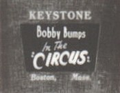 Bobby Bumps at The Circus Free Cartoon Picture
