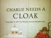 Charlie Needs A Cloak Picture Of Cartoon