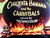 Chiquita Banana And The Cannibals Cartoon Picture