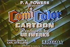 ComiColor Cartoons Theatrical Cartoon Series Logo