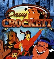 On A Tu� Davy Crockett Picture Of Cartoon