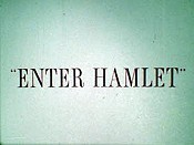 Enter Hamlet The Cartoon Pictures