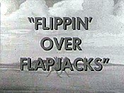 Flippin' Over Flapjacks Picture Of Cartoon