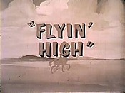 Flyin' High Free Cartoon Picture