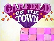Garfield On The Town Free Cartoon Picture